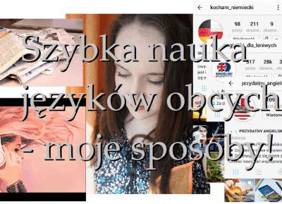 Sabrooowska 96: JĘZYKI OBCE - Sprawdzone sposoby na szybką i skuteczną naukę