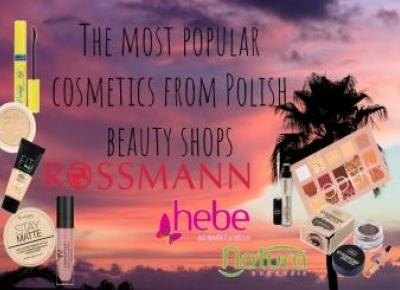 Sar-shy: The most popular cosmetics from Polish beauty shops