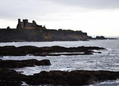 Black Camera: SEACLIFF BEACH, HARBOUR AND TANTALLON CASTLE || PART 2
