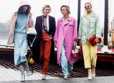 7 najmodniejszych kolorów na wiosna-lato 2019