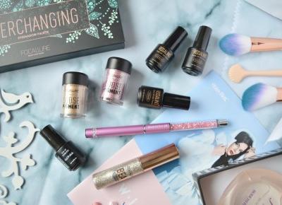 Wredna z wyboru: BLING BLING, CZYLI WSZYSTKO CO SIĘ ŚWIECI Paznokciowo-makijażowy haul z Rosegal