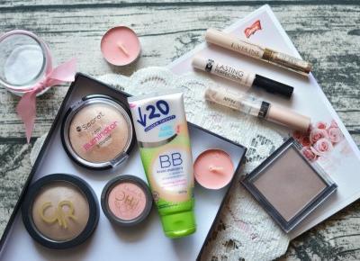 Wredna z wyboru: TANIE I DOBRE #1 Kosmetyki do makijażu twarzy