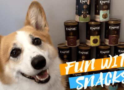 Fun with snacks – przysmaki i suplementy dla psów od Empire — Blog bez ogonka