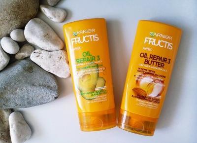 Porównanie ulubionych odżywek - Garnier Oil Repair 3 vs Oil Repair 3 Butter  - ShinyHaired - włosy, uroda, zdrowie