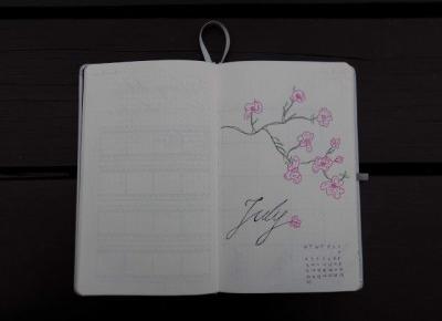Siejonka: My Bullet Journal - Lipiec