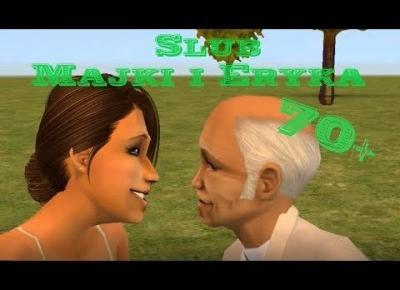 Sims 2 Verona cz.9: Ślub Majki i Eryka | Średnia wieku 70+