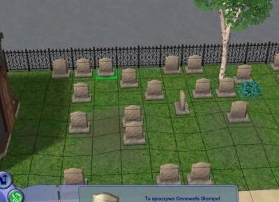 Sims 2: Weroński cmentarz | Organizacja | Historie bohaterów
