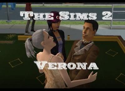 Sims 2 Verona #11 - Bliźniaczki, niedziałająca dwójka i filter