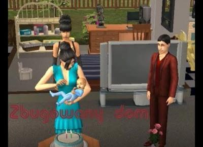 Sims 2 Pokolenie: sez 5 odc 36: Zbugowany dom