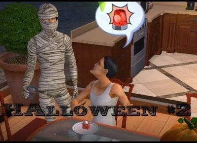 Sims 2 Pokolenie: sez 5 odc 53 - Halloween | Pierwsza miłość Moni