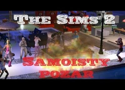 Sims 2 Pokolenie: sez 5 odc 54 - Halloween #3 | Samoistny pożar