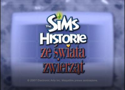 Sims 2 Historie ze świata zwierząt #1: Jak Pusia zmienia życie faceta?