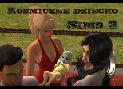 Sims 2 Pokolenie: sez 5 odc 44: Jak pozbyć się kosmicznego dziecka? Utopić je!