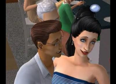 Sims 2 Pokolenie: sez 5 odc 30: Nowa chata i zdjęcie z tortem dla każdego