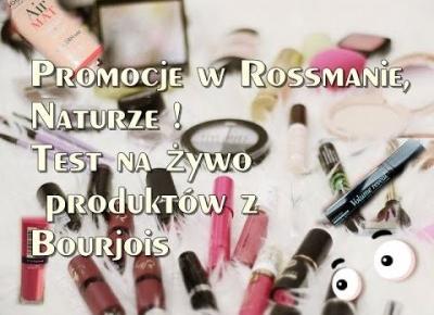 Promocje Rosmman, Natura,Douglas , test na żywo ♥