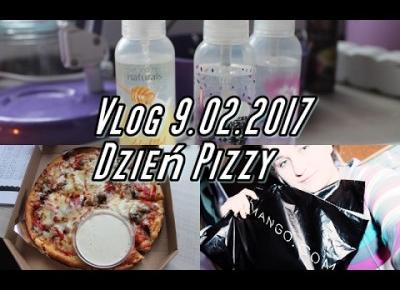 Vlog Pogadanka 9.02.2017|Dzień Pizzy|Haul ubraniowy|♥