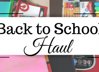 Lifestyle według blondynki: HAUL BACK TO SCHOOL / UNIVERSITY