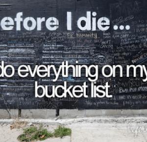 Suzanne_Q: Bucket List