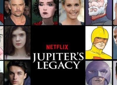 Powstaje Jupiter's Legacy - Seriale Srebrnego Ekranu