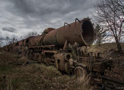 Zapomniane składy kolejowe – Szary Burek