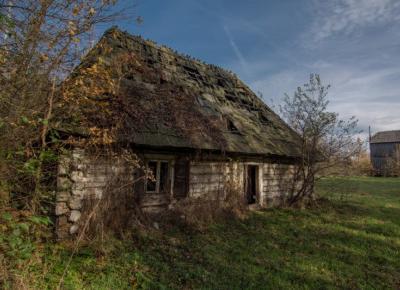 Opuszczony skansen pod Warszawą