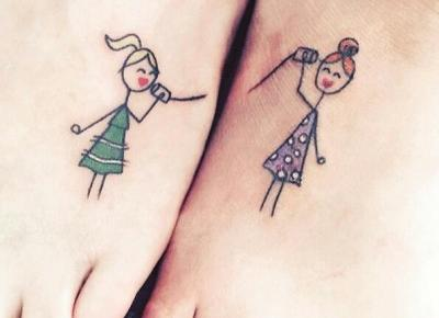 Tatuaże dla sióstr #1