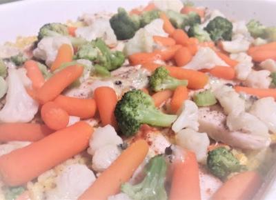 Pomysł na obiad: zapiekanka rybna z ryżem BEZ GLUTENU! | Diety i ich sekrety