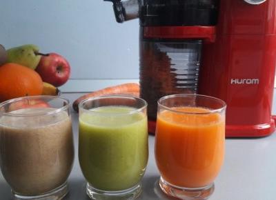 Dieta sokowa z wyciskarką HUROM, czyli domowe oczyszczanie organizmu z toksyn | Diety i ich sekrety
