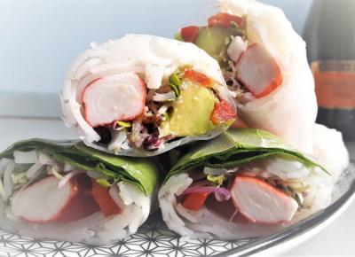 Spring rollsy - wyśmienita i błyskawiczna przekąska na każdą imprezę! | Diety i ich sekrety