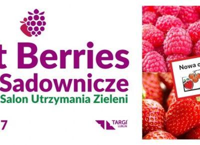 Taka Opcja: Targi Sadownicze Best Berries czyli VEGE FRUIT EXPO