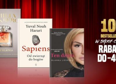 Takie książki - Taka Troche o książkach czyli.. : 100 BESTSELLERÓW W SUPER CENACH