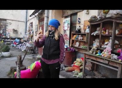 Podwórko opuszczonych zabawek i inne atrakcje we Lwowie (Ukraina)