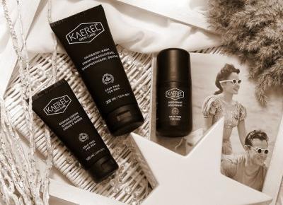 Toksyczna kosmetyczka: Męska eko-pielęgnacja z kosmetykami Kaerel [natinati.pl]
