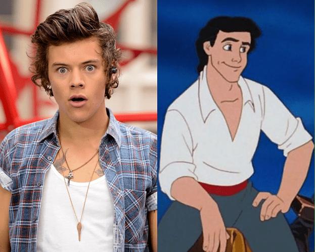 Harry Styles ODRZUCIŁ rolę w Małej Syrence!