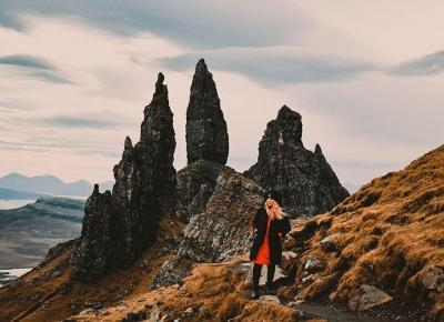 Kciuk Giganta na Wyspie Skye - The Old Man of Storr - Szkocja • Travel Jera