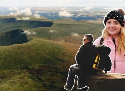 Zdobywamy góry południowej Walii!- VIDEO • Travel Jera