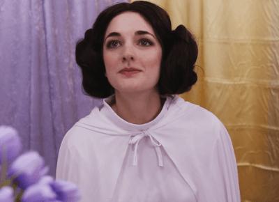 Księżniczka Leia na YouTube