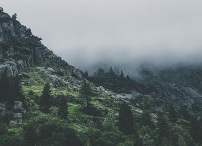 Legenda żeglujących gór