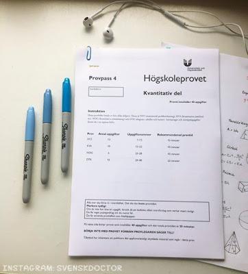 ~Versjada~: HOGCOŚTAM - czym jest Högskoleprovet