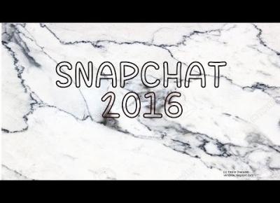 PODSUMOWANIE: SNAPCHAT 2016 | Emilia i Marta