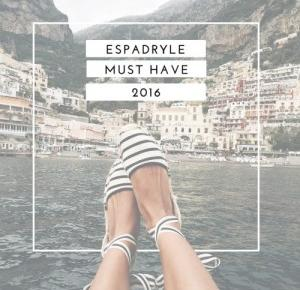 Book Written Rose: Espadryle - must have 2016
