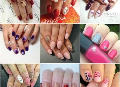 Walentynkowe paznokcie-inspiracje