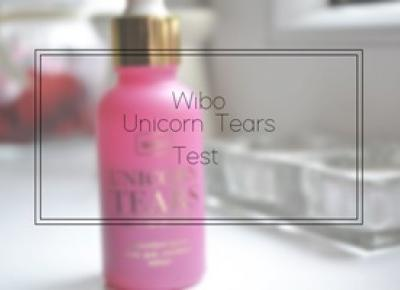 Book Written Rose: Wibo Unicorn Tears Test