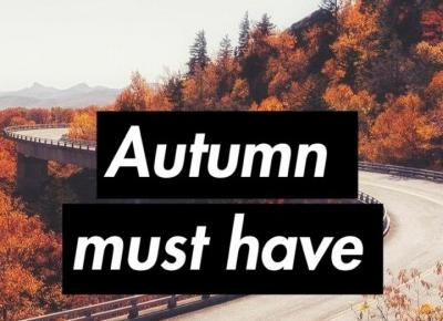 AUTUMN MUST HAVE | Vika