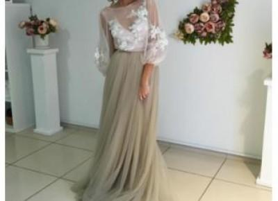Long Sleeve Tulle Dress--www.27dress.com