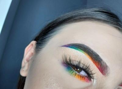 rainbow makeup 🌈