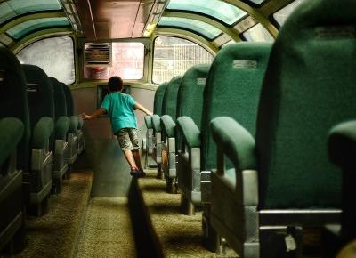 Pociągowe przygody - Unusual Blonde