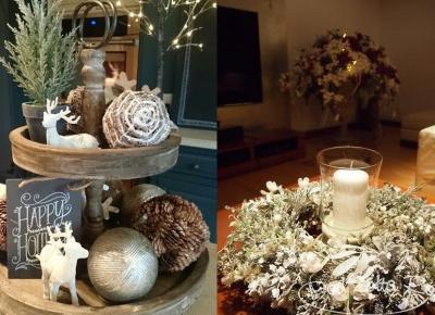 Inspiracje: Świąteczne dekoracje - Unusual Blonde