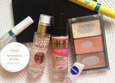 Kosmetyki, których używam do codziennego makijażu - Unusual Blonde