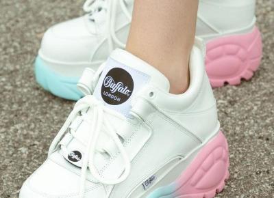 Najpiękniejsze sneakersy od Buffalo London🇬🇧❤️